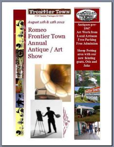 Meet The Artist LeeAnn McLane-Goetz At The Art Exhibit Sale At Frontier Town